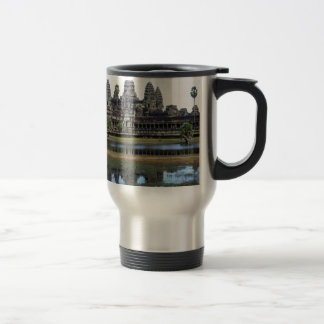 Angkor Wat Cambodia Temple Travel Photography Travel Mug