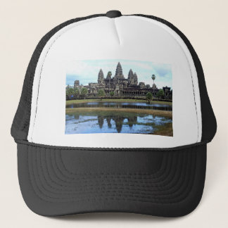 Angkor Wat Cambodia Temple Travel Photography Trucker Hat