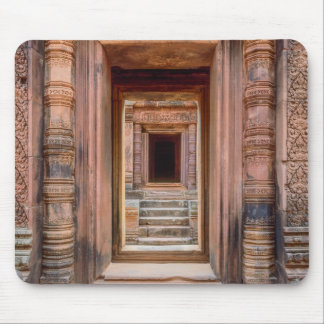 Angkor Wat Entryway, Cambodia Mouse Pad