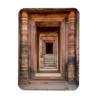 Angkor Wat Entryway, Cambodia Rectangular Photo Magnet
