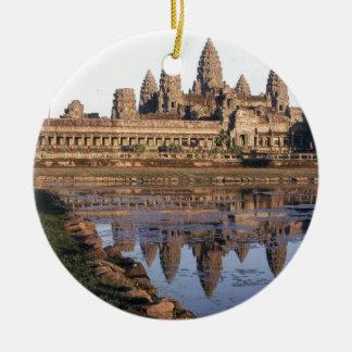 -Angkor-Wat-[kan.k] Ceramic Ornament