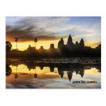 Angkor Wat Reflection Post Cards