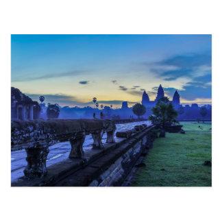 Angkor Wat Temple - Cambodia Postcard