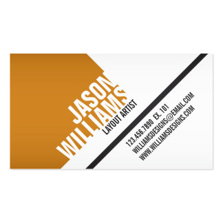 Angled Geometric Blocks - Style 4 Pack Of Standard Business Cards