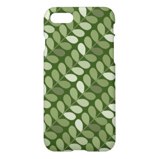 Angled Green Vines iPhone 7 Case