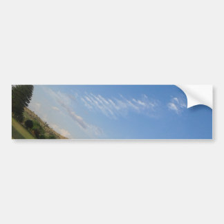 Angled Panorama Bumper Sticker