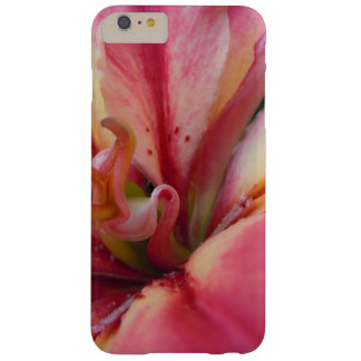 Angled Pink & Cream Lily Barely There iPhone 6 Plus Case