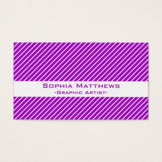 Angled Pinstripes 45 (Purple)