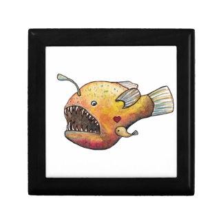Angler fish love gift box