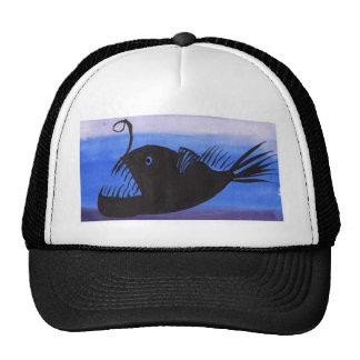 Angler Fish Silhouette Cap