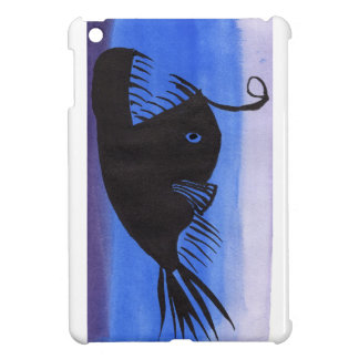 Angler Fish Silhouette Case For The iPad Mini