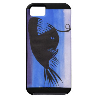 Angler Fish Silhouette Case For The iPhone 5