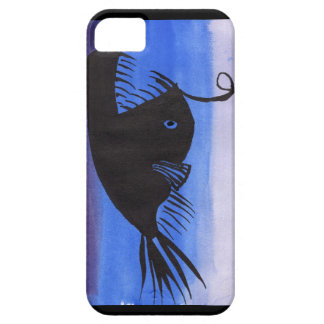 Angler Fish Silhouette iPhone 5 Covers