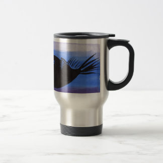 Angler Fish Silhouette Travel Mug