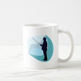 Angler Fisher Coffee Mug