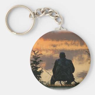 Angler Key Ring