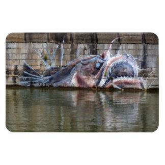 Anglerfish Rectangular Photo Magnet