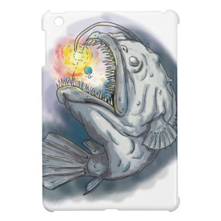 Anglerfish Swooping up Solar System Lure Watercolo Case For The iPad Mini