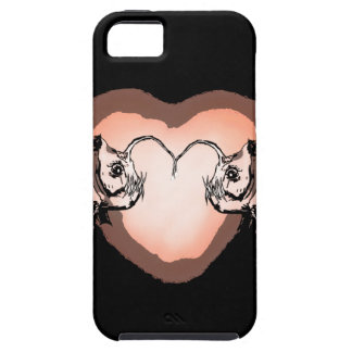 Anglerfishes in Love Tough iPhone 5 Case