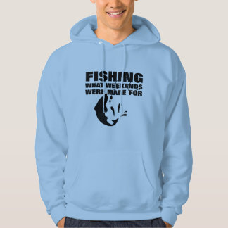 Anglers Fishing Themed Funny Slogan Hoodie