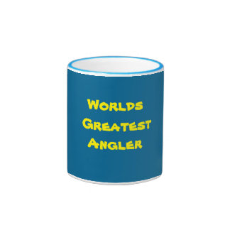 Anglers Ringer Coffee Mug. Ringer Mug