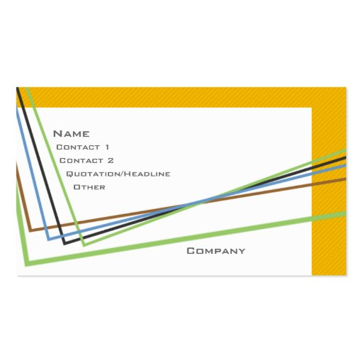 Angles Business Card
