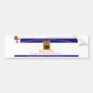 Anglican Church of the Good Shepherd Car Bumper Sticker