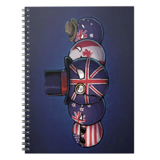 Anglo-Saxon Countryballs Notebooks