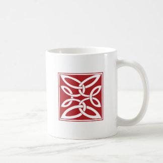 Anglo-Saxon Knot Basic White Mug