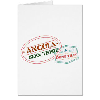 Angola Been There Done That Card