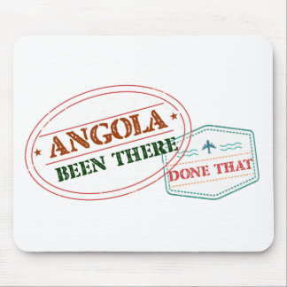 Angola Been There Done That Mouse Pad
