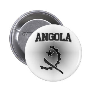 Angola  Coat of Arms 6 Cm Round Badge