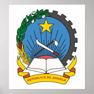 Angola Coat Of Arms Print