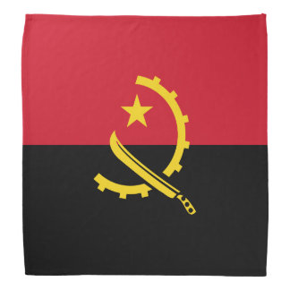 Angola Flag Bandana