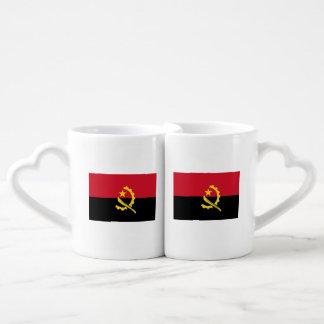 Angola Flag Coffee Mug Set