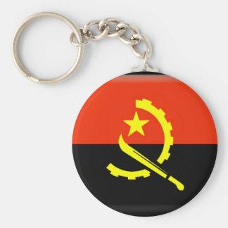 Angola flag key ring