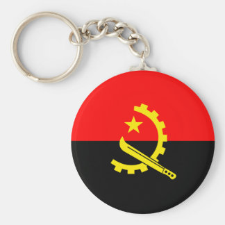 Angola Flag Key Ring