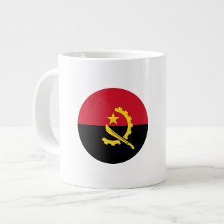 Angola Flag Large Coffee Mug