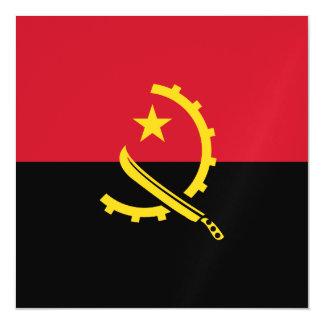 Angola Flag Magnetic Invitations
