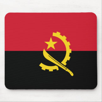 Angola Flag Mouse Pad