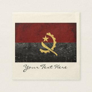 Angola Flag Party Napkins Disposable Napkin