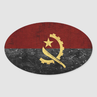 Angola Flag Stickers