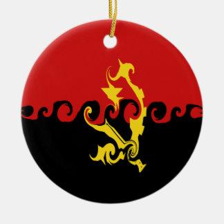 Angola Gnarly Flag Ornament