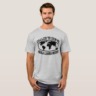Angola Luanda Mission - LDS Mission CTSW in White T-Shirt