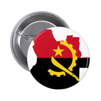 Angola map pin