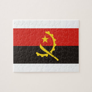 Angola National World Flag Jigsaw Puzzle