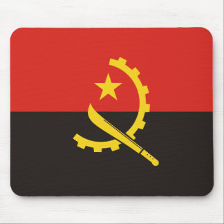 Angola National World Flag Mouse Pad
