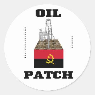 Angola Oil Patch,Oil Field Sticker,Decal,Oil,Gas Classic Round Sticker