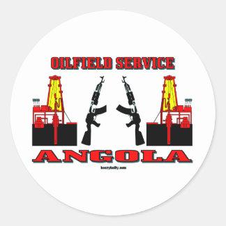Angola Oilfield Service, Oil Field Sticker
