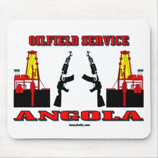 Angola Oilfield Service,Oil,Rigs,Mousepad,Gift Mouse Pad